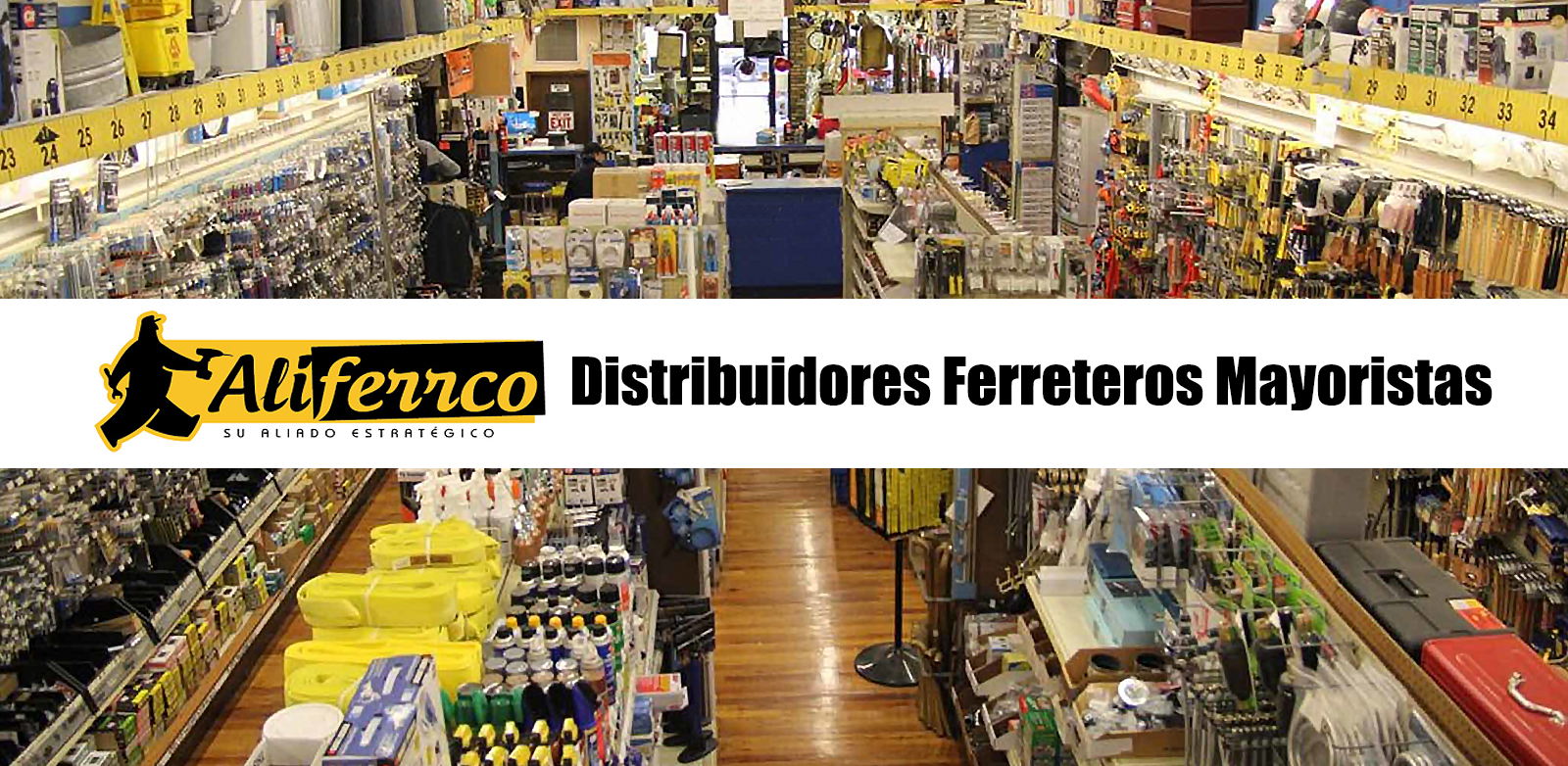 Aliferrco - Distribuidores Ferreteros Mayoristas - Bogota
